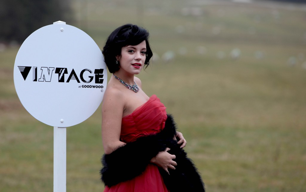 makeup for Lily Allen by Brittany Jamison Lackey