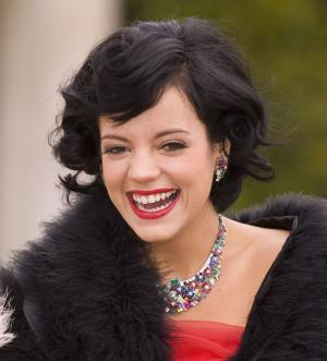 My makeup for Lily Allen