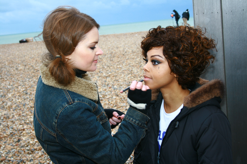 Brittany Jamison Lackey Samia music video makeup 12