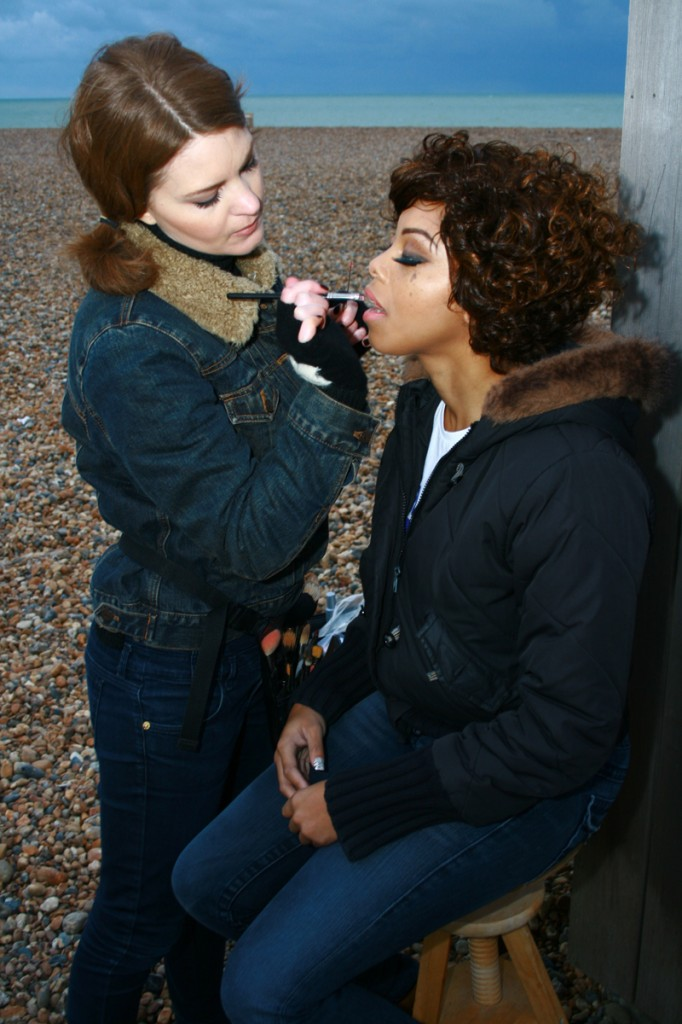 Brittany Jamison Lackey Samia music video makeup 14