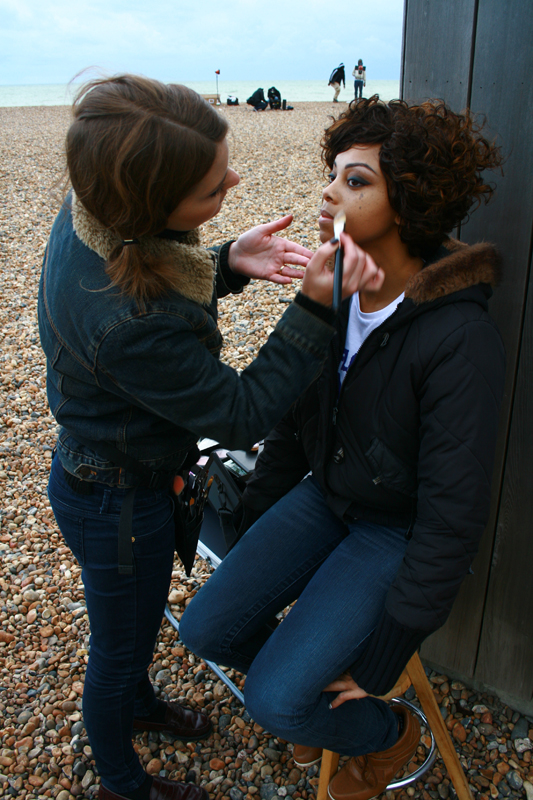 Brittany Jamison Lackey Samia music video makeup 3