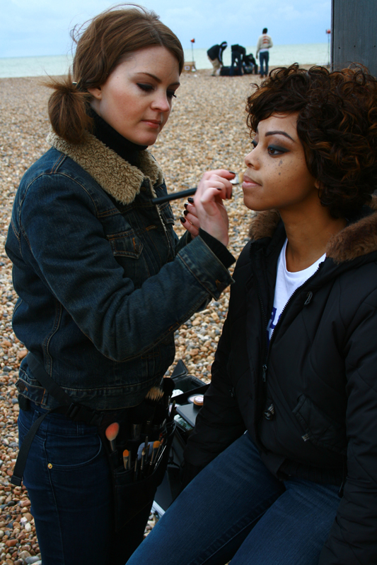 Brittany Jamison Lackey Samia music video makeup 4