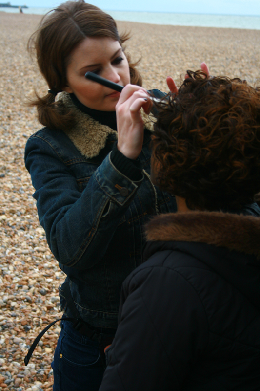 Brittany Jamison Lackey Samia music video makeup 5