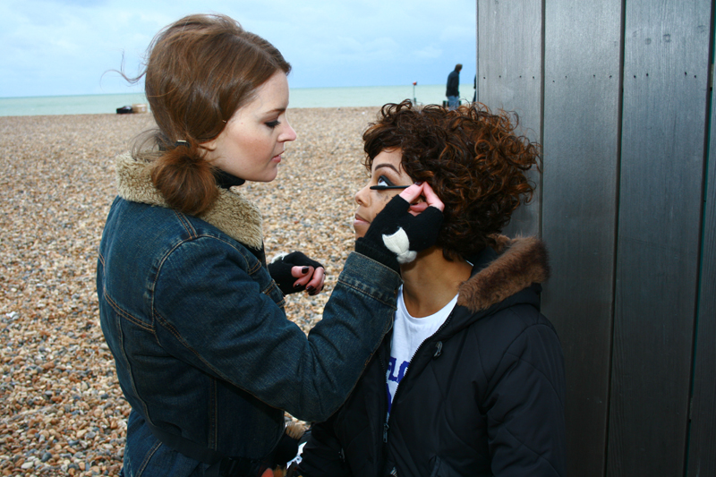 Brittany Jamison Lackey Samia music video makeup 6