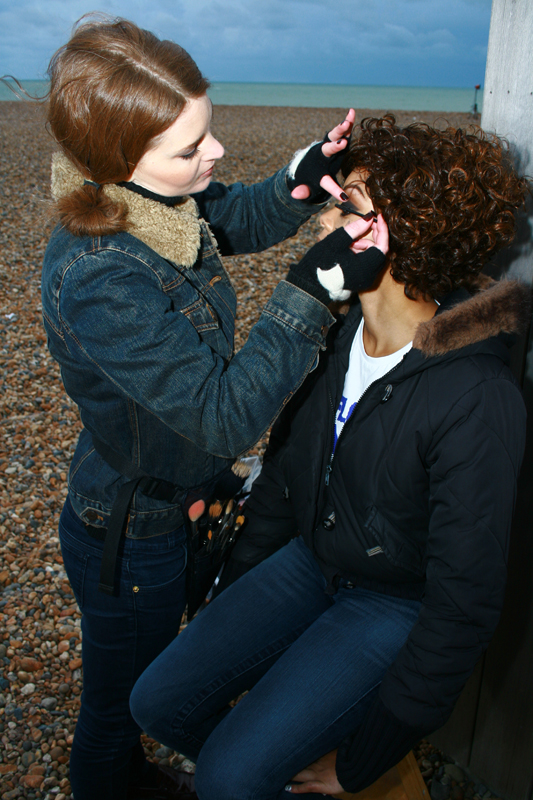 Brittany Jamison Lackey Samia music video makeup 7