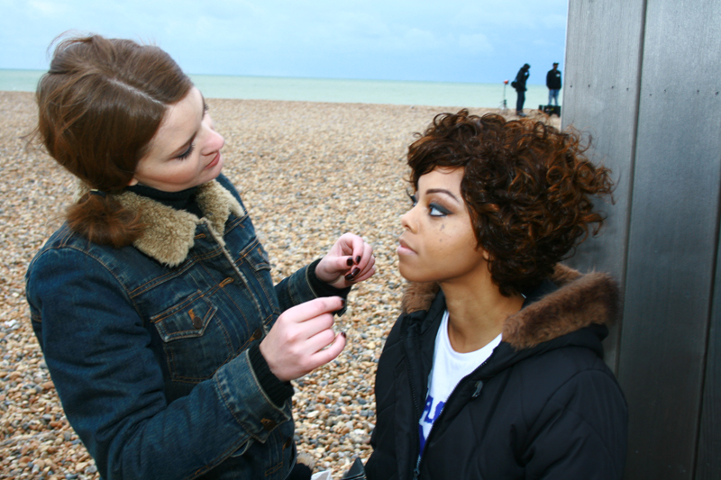 Brittany Jamison Lackey Samia music video makeup 8
