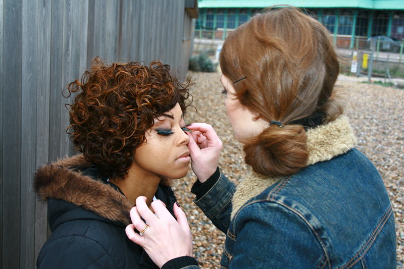 Brittany Jamison Lackey Samia music video makeup 9