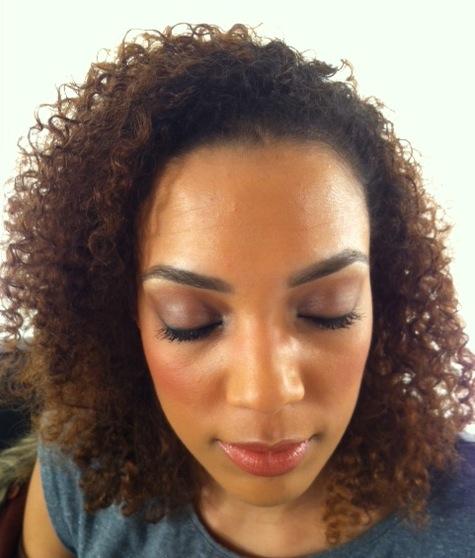 Brighton Makeup Artist dark skin tone makeup