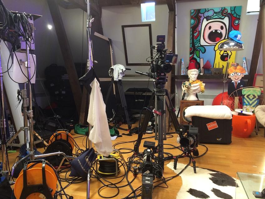 CITV Scrambled film studio
