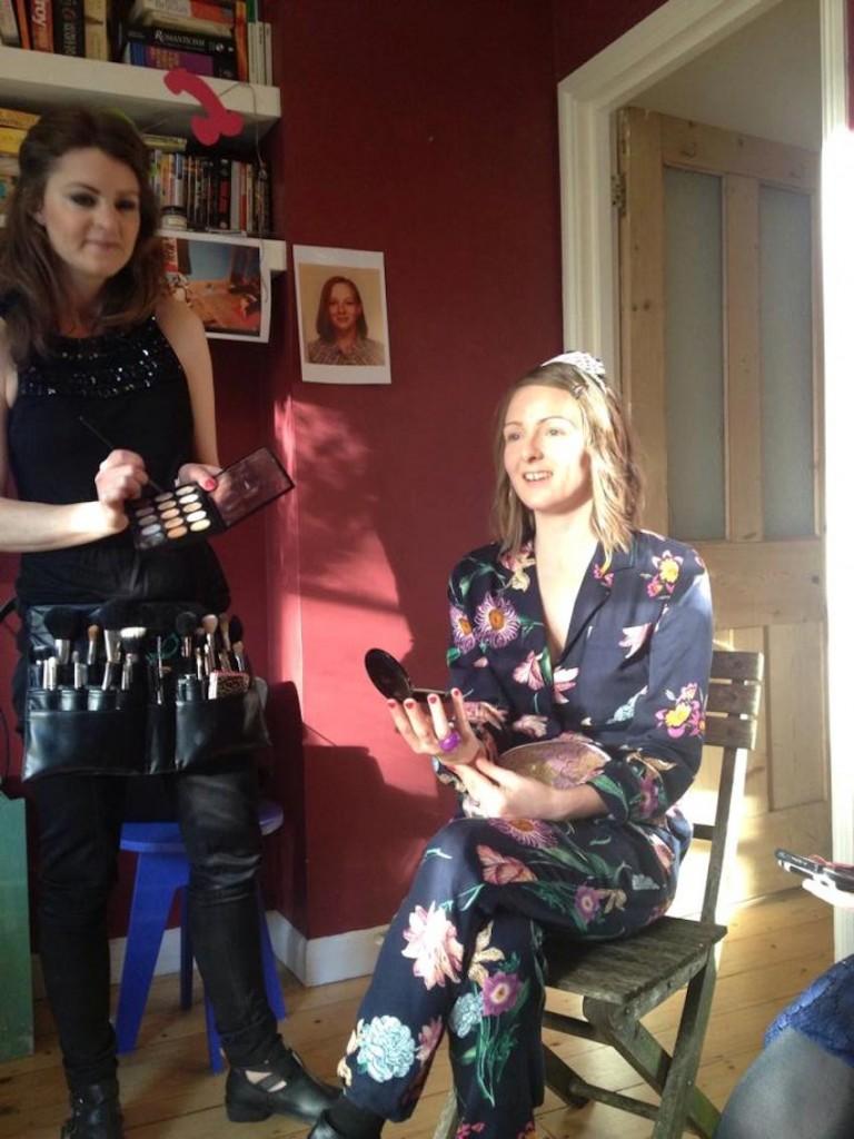London Hen Party makeup workshop2