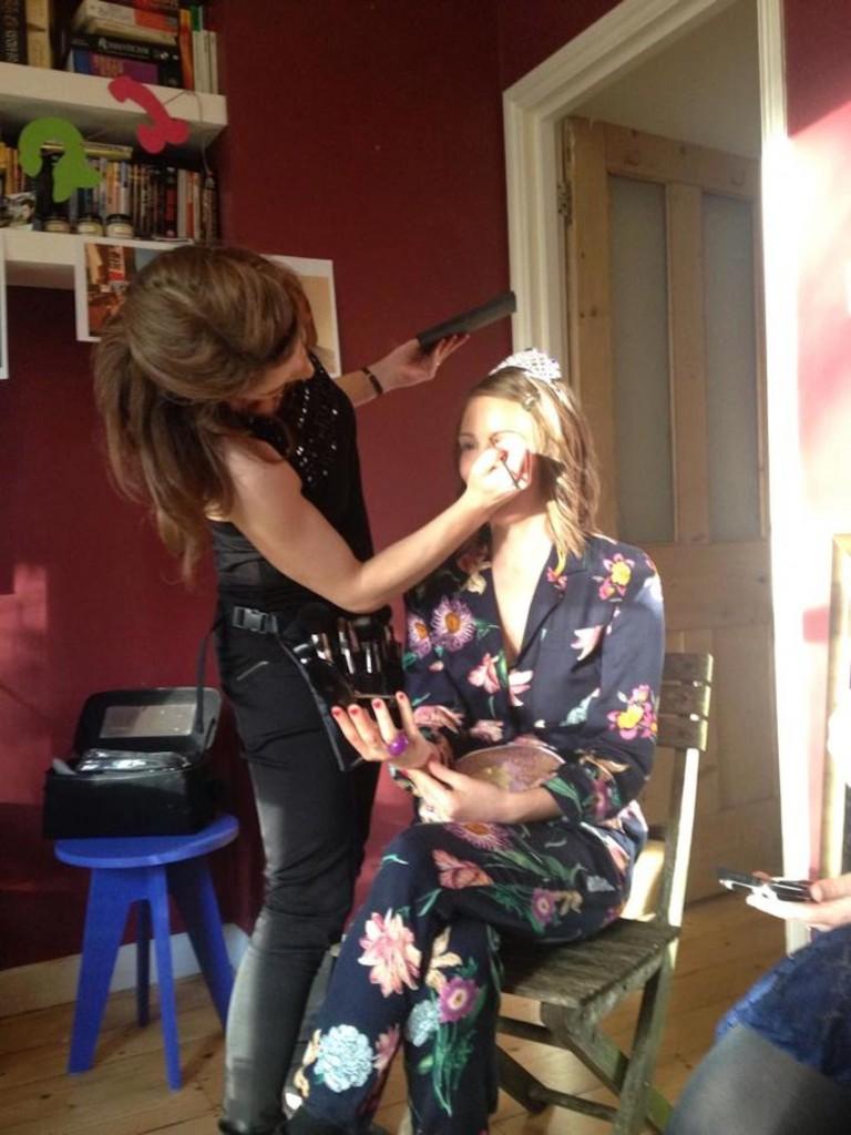 London Hen Party makeup workshop
