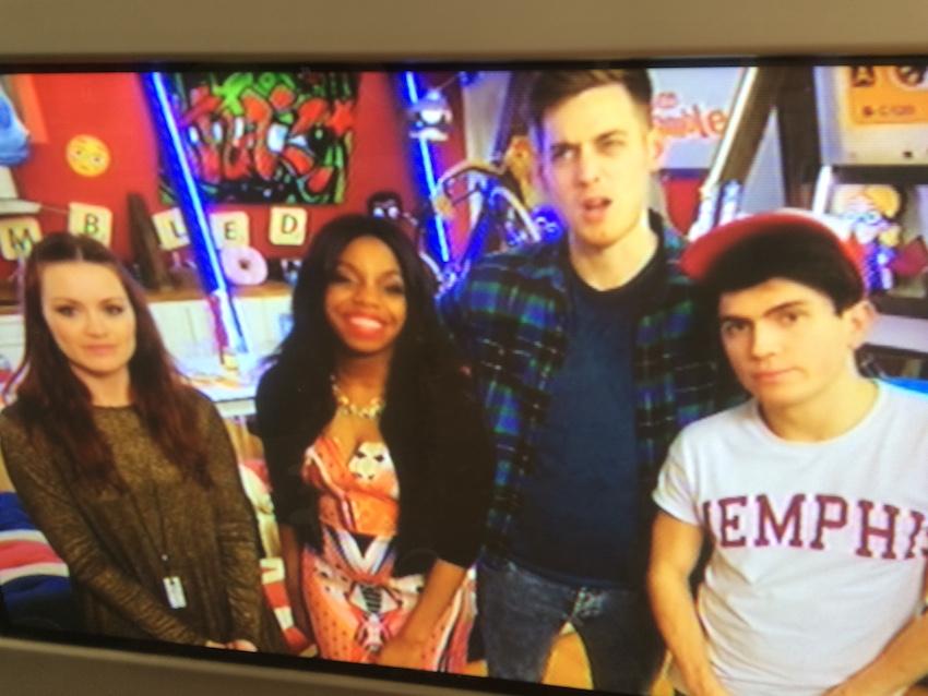 Brittany Jamison Lackey makeup artist TV film CITV scrambled presenters